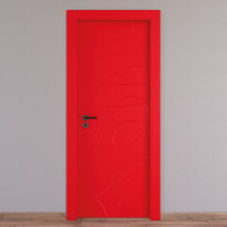 Porta da interno battente Wind red rosso 60 x H 210 cm dx
