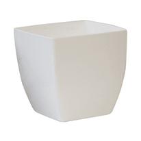 Vaso Quadro Siena 29 x 29 cm bianco