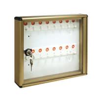 Bacheca porta chiavi 16 posti bronzo 30 x 5 x 25 cm