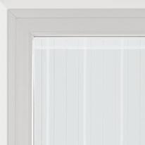 Tendina a vetro per finestra Picasso bianco 90 x 170 cm