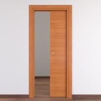 Porta da interno scorrevole Light 70 x H 210 cm reversibile