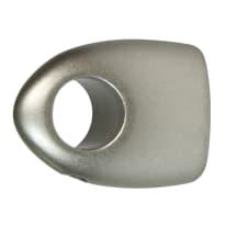 Supporto per bastone per tendina vetro Jolly NH cromo