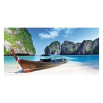quadro su tela Paradise beach 90x190