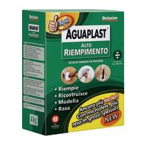Stucco in polvere Aguaplast Alto Riempimento liscio bianco 4 kg