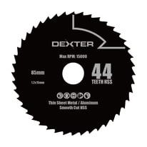 Lama per sega circolare Dexter Ø 85 mm 44 denti