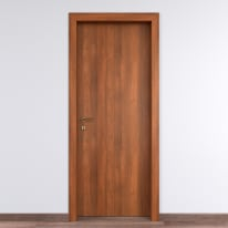 Porta per bed & breakfast battente Tuscan Hills noce biondo 90 x H 210 cm dx
