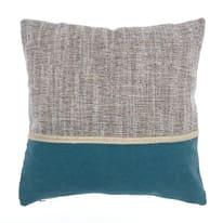 Cuscino Tolomeo blu retro tinta unita 40 x 40 cm