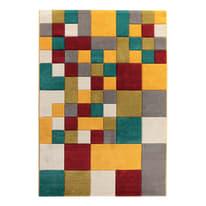 Tappeto Allegra multicolore 160 x 230 cm