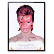 Stampa incorniciata David Bowie 30 x 40 cm
