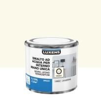 Smalto manounica Luxens all'acqua Bianco Crema 5 opaco 0.125 L