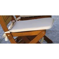 Cuscino seduta ecru 39 x 40 cm