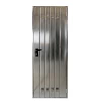 Porta di servizio lamiera Lucida L 80 x H 200 cm