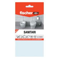 4 kit di fissaggio Fischer Sanitari ø 8 x 40  mm con vite
