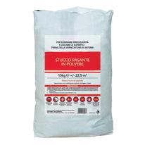 Stucco in polvere Rasante liscio bianco 15 kg