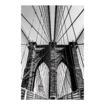 quadro su tela Brooklyn bridge 75x115