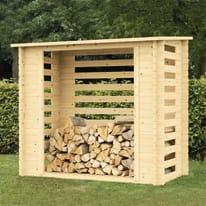 Legnaia in legno Brema 2 m², spessore 18 mm