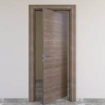Porta da interno rototraslante Stylish grigio 70 x H 210 cm dx