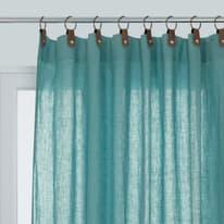 Tenda Lina azzurro 140 x 280 cm