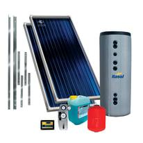 Impianto solare termico a circolazione forzata Costruzioni Solari Itasol 300