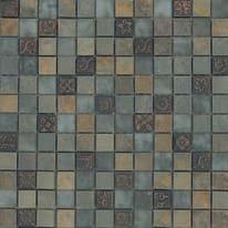 Mosaico Ardesia natura 30 x 30 cm verde