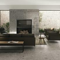 Piastrella Pietra di gre' 60 x 120 cm grigio