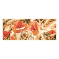 quadro su tela Red impression 70x180