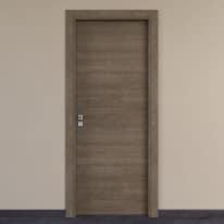 Porta per hotel battente Radisson tabacco 90 x H 210 cm dx