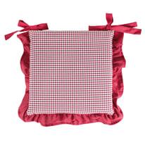 Cuscino per sedia sfoderabile double face Country 40 x 40 cm