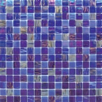Mosaico Patchwork 32,7 x 32,7 cm blu