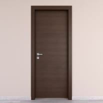 Porta da interno battente Timber Fumo 70 x H 210 cm reversibile