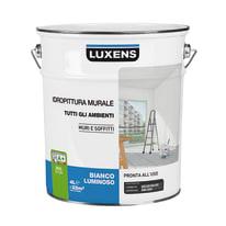Idropittura lavabile bianca Luxens 4 L