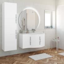 Mobile bagno Sting bianco L 104 cm