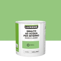 Smalto Luxens all'acqua Verde Esotico 5 satinato 0.5 L