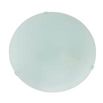 Plafoniera Pluton bianco Ø 25 cm