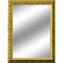 specchio da parete rettangolare Barocco oro 85 x 115 cm
