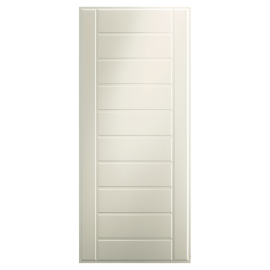 Pannello per porta blindata MDF idrofugo PVC pellicolato bianco L 90 x H 210 cm , spessore 6 mm
