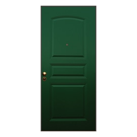 Porta blindata Aluminium verde L 80 x H 210 cm dx