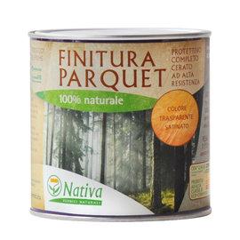 Finitura parquet Nativa 100% naturale incolore cerato 0.75 L