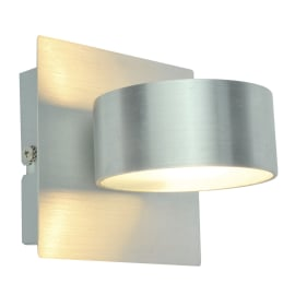 Applique LED integrato Dopan Ø 7 cm