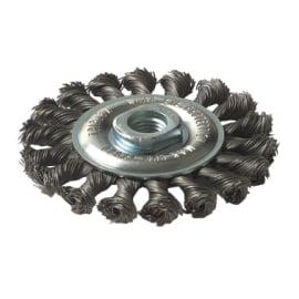 Spazzola in acciaio per smerigliatrice angolare