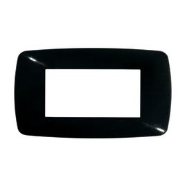 Placca 4 moduli FEB Flexì Brio nero