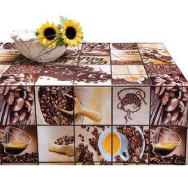 Tovaglia plastificata Caffè marrone 220 x 140 cm