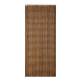 Porta a soffietto Golden Oak grano L 85 x H 214 cm