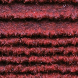 Passatoia al taglio Eco-stripe rosso 65 cm