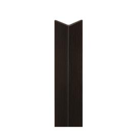 Paraspigolo PVC pellicolato wengè 25 x 25 x 3000 mm