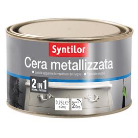 Cera Syntilor Metalizzata bianco 250 ml