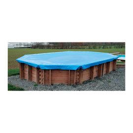Copertura invernale per piscina 405 x 605 cm