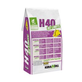 Colla in polvere Kerakoll H40 No Limits C2 grigio 5 kg