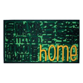 Zerbino City text verde 40 x 70 cm