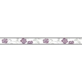 Bordo Fiore rosa 5 m